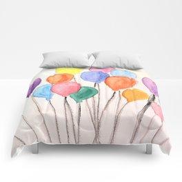 Balloon Doodle Comforters
