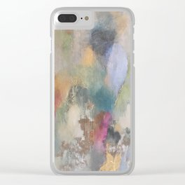 GEODE MULTICOLOR Clear iPhone Case