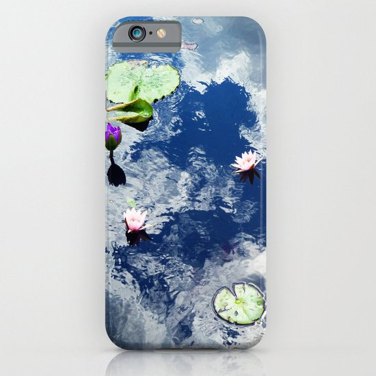 Water Lily Sky iPhone & iPod Case