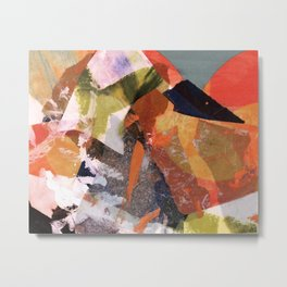 Abstract Collage I Metal Print