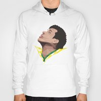neymar Hoodies featuring Neymar Junior Brazil by CurrentFootball
