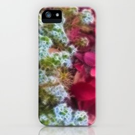 Fall sidewalk Leaves in Kenosha iPhone Case