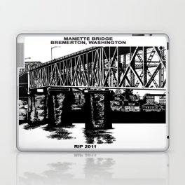 Manette Bridge Laptop & iPad Skin