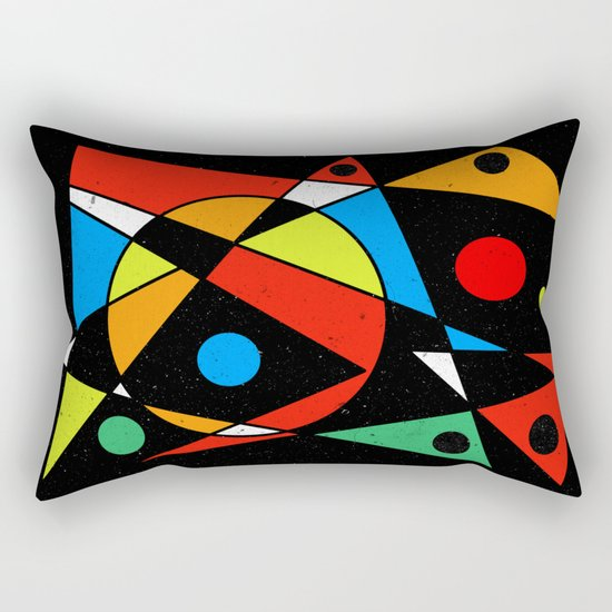 Abstract #120 Rectangular Pillow