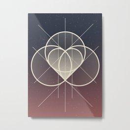 Complicated Metal Print