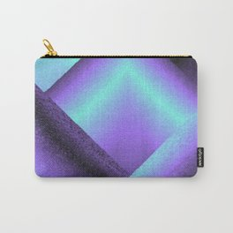 purple and blue mountains Carry-All Pouch