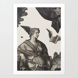 Calipso Art Print