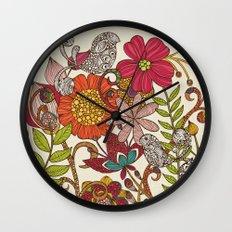 Spring garden Wall Clock