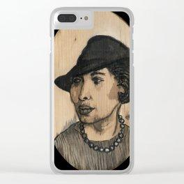 zora neale hurston Clear iPhone Case