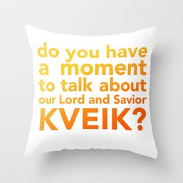 Clout no. 2 Throw Pillow