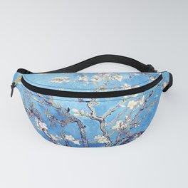 Vincent Van Gogh Almond Blossoms. Sky Blue Fanny Pack