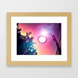Light the Light of My Vision Framed Art Print