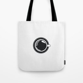 Cup of coffee with stars Tote Bag