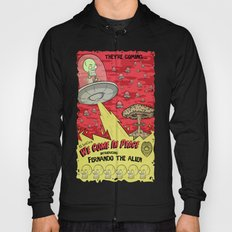 We Come In Peace BW Hoody