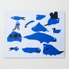 Whimsical Critters Canvas Print