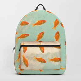 pattern goldfish Backpack