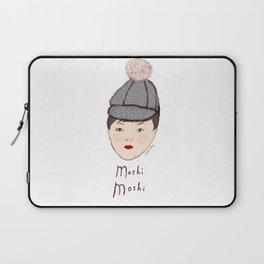 Moshi Moshi - White and Pink Laptop Sleeve