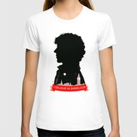 sherlock T-shirts featuring Sherlock by Duke Dastardly