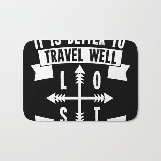 Travel Well Bath Mat