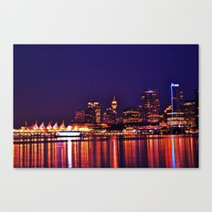 this city, these streets Canvas Print