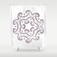 decorative Shower Curtains featuring Decorative by Meredith Washburn
