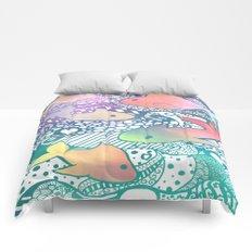One Fish, Zen Fish Comforters