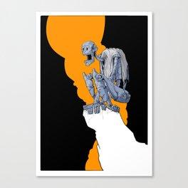 Sword & Metal III. Canvas Print
