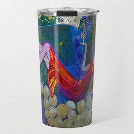 Chardonnay Label Art for BIN 616 Travel Mug