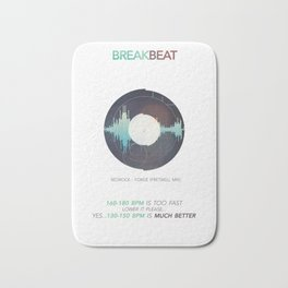 BREAKBEAT Bath Mat