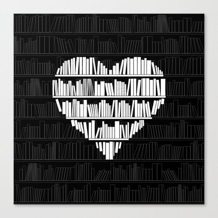 Book Lover Leinwanddruck
