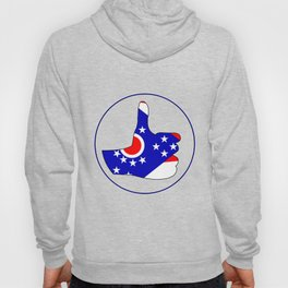 Thumbs Up Ohio Hoody