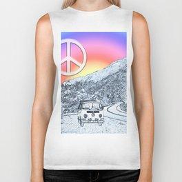 BusLife Peace & Love Biker Tank