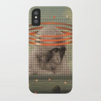 pixies iPhone & iPod Cases featuring this monkey gone to heaven by Rosa Picnic