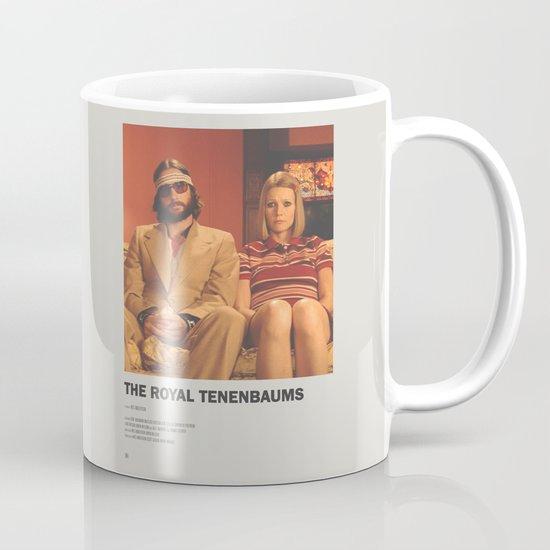 royal tenenbaums minimal movie poster no 03 mug by minimal