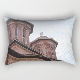 Roumania, Kretzulescu Church, Bucarest Rectangular Pillow