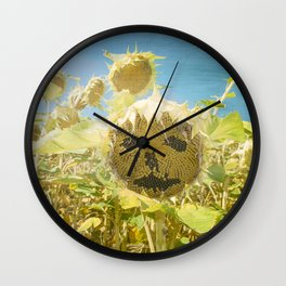 Out of place Wall Clock