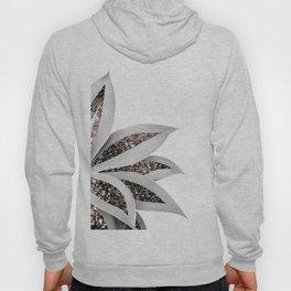 Agave Finesse Glitter Glam #1 #tropical #decor #art #society6 Hoody
