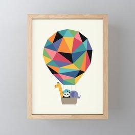Fly High Together Framed Mini Art Print
