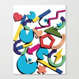 Quantified self Canvas Print