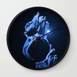 Digital Anemone Wall Clock