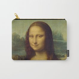 Mona Lisa, (Extreme High Quality/Detail) Carry-All Pouch
