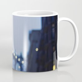 Manhattan Bridge at Night II Coffee Mug