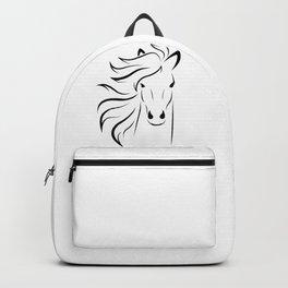 Horse mane Backpack