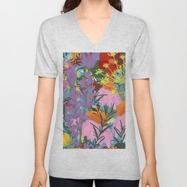 Aromatherapy for the Bees in Sky Blue Unisex V-Neck