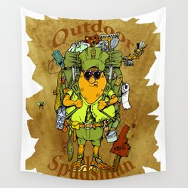 Outdoor Spudsman Wall Tapestry