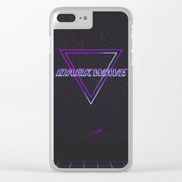 Darkwave Aesthetic Clear iPhone Case