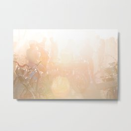 Playa Sunrise Metal Print