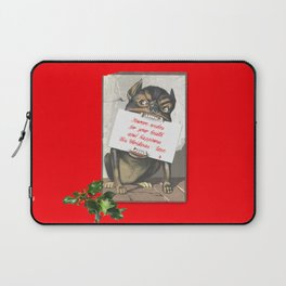 Best Christmas Wishes from the Beast Laptop Sleeve