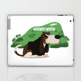 Hollywood Basset Hound Laptop & iPad Skin