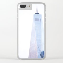 world trade center Clear iPhone Case